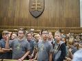 Deti v NRSR zaujímalo, či treba na prácu poslanca parlamentu absolvovať IQ test