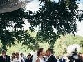 Zuzana Šebová a Michal Kubovčík sa začiatkom júla zosobášili bez veľkého mediálneho ošiaľu.