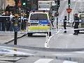 Šialená dráma v Štokholme: Muž zaútočil na policajta a bodol ho do krku
