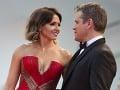 Matt Damon sa na svoju manželku Lucianu stále pozerá s veľkou láskou.