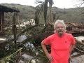Katastrofický pohľad na luxusnú vilu miliardára Bransona: FOTO Hurikán z nej spravil chatrč