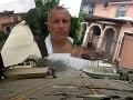 Hodiny hrôzy Borisa Kollára! VIDEO Hurikán poškodil jeho vilu na Floride, útek na poslednú chvíľu