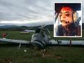 Oslava v Prievidzi sa zmenila na obrovskú tragédiu: FOTO Smrť pilota Miroslava, dvaja zranení