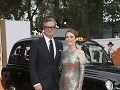 Julianne Moore si zapózovala s kolegom Colinom Firthom.