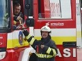 Požiar v bratislavskom nákupnom centre: Horel sklad potravín