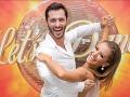 Braňo Deák s tanečnou partnerkou Dominikou Roškovou v Let's Dance.