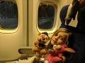 Rodina cestovala do Slovinska: V lietadle z Kanady zažila najhoršie chvíle života