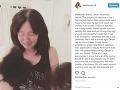 Shannen Doherty zverejnila na instagrame túto emotívnu fotku.