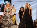 Moderátorka Marianna Ďurianová medzi modelkami