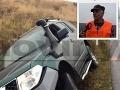 Mečiarov minister havaroval a nafúkal: FOTO džípu v jarku, úprimne prehovoril tesne po nehode