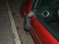 Vyčíňanie Srbov v Trenčíne: FOTO V podguráženom stave zničili spätné zrkadlá na 24 autách