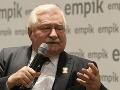 Poľský exprezident Walęsa sa podrobí zákroku na srdci, národu poslal silný odkaz