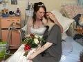 Dievčine (20) lekári povedali, že o pár dní zomrie: Stal sa zázrak, teraz chystá vlastnú svadbu