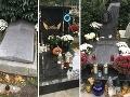 Hroby známych Slovákov: Zanedbaní velikáni, tyrkysový veniec aj miesta obsypané kvetmi a darčekmi!