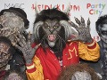 Heidi Klum ako vlkolak Michael Jackson v klipe ku skladbe Thriller.