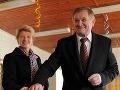 Milan Belica počas volieb.