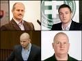 Marian Kotleba, Milan Uhrík, Milan Mazurek a Peter Krupa
