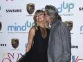 Kurt Russell sa ku Goldie Hawn takto láskyplne túlil.