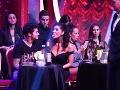 Speváčka Dáša Mamba Šarközyová si takto užívala prítomnosť svojho partnera - tanečníka Tonyho Poruchu.