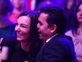 Roman Pomajbo a jeho manželka Petra sa počas šou perfektne zabávali.