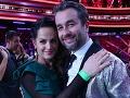 Vladovi Kobielskemu prišla na finále fandiť jeho manželka Alena Kobielska.