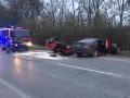 Tragické ráno, nehoda v Ivanke pri Dunaji: Mladík (†22) na honde zahynul po čelnej zrážke s BMW