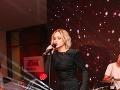 Emma Drobná prítomným hosťom zaspievala.