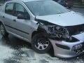 FOTO Najhorší možný začiatok dňa: Lipták totálne roztrieskal predok auta