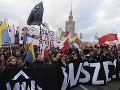 Poľská prokuratúra začala vyšetrovať prejavy rasizmu počas pochodu nacionalistov