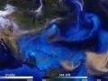 Ohromujúci pohľad na zemskú atmosféru v roku 2017: VIDEO putovania zúrivých hurikánov