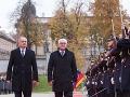 Kiska privítal Steinmeiera: Stojíme tu ako partneri v EÚ, to by nám v 1989 ani nenapadlo