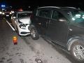 Reťazová nehoda na R1: Zrazilo sa 11 áut, doprava bola zablokovaná