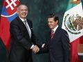 Kiska: Mexiko je najdôležitejším obchodným partnerom v Latinskej Amerike
