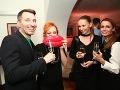 Takto sa naše celebrity zabávali po prehliadke Fera Mikloška.