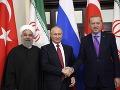 Putin chce zorganizovať mierový kongres o Sýrii: Pozval sýrsku opozíciu aj Erdogana