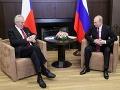Zeman nešetril chválou na Putina: Je silná politická osobnosť a iba blázon to môže popierať
