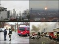 MIMORIADNY ONLINE Obrovský výbuch pri Bratislave: Jeden mŕtvy, zranený je aj Slovák