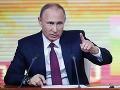 Rusko je obľúbeným terčom teroristov, tvrdí Putin: Prekazili desiatky útokov