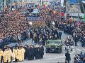 FOTO Veľkolepý pohreb posledného rumunského kráľa: Zbohom mu dali najmocnejší šľachtici Európy