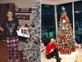 Súťaž: Hlasujte za najkrajší vianočný stromček šoubiznisu!