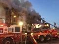 FOTO Veľký bytový požiar v New Yorku: Minimálne 22 zranených