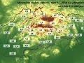 Porovnanie teplotných rekordov s vlaňajšou zimou