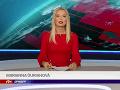 Marianna Ďurianová mala v pondelok svoju premiéru v spravodajstve verejnoprávnej RTVS.