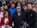 Registrácia novej politickej strany Spolu.