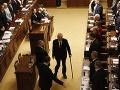 Miloš Zeman sa poslednej debaty nezúčastnil.