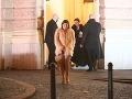 Speváčka Celeste Buckingham s plesu odchádzala sama.
