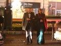 Miss Slovensko 2002 Eva Verešová s manželom Dušanom.