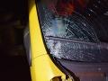 FOTO Vážna nehoda pri Bytči: Mladý vodič zrazil chodkyňu, je ťažko zranená