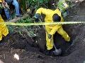 Otrasný nález v Mexiku: V poli s cukrovou trstinou objavili hroby s 33 telami