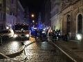 MIMORIADNE Dráma v centre Prahy: VIDEO Tragický požiar hotela, mŕtvi a desiatka zranených!